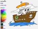 Dibujos infantiles para colorear on-line