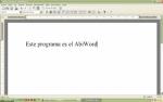 AbiWord el procesador de texto portable, multilenguaje y gratuito