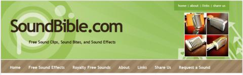 Enciclopedia de efectos de sonido, libre y gratuita