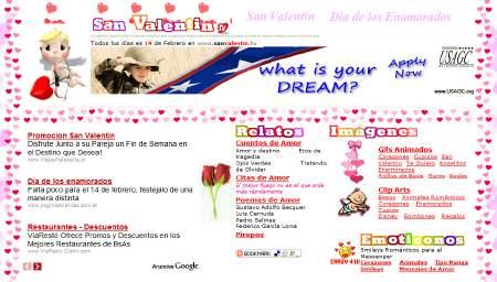 San Valentín. Prepárate para el día de los enamorados
