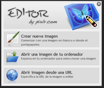 Editor avanzado de imágenes on-line y gratuito