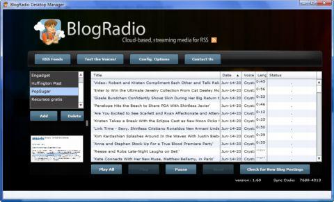 Con BlogRadio, escucha tus blogs preferidos