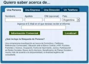 B Squeda De Personas En Argentina Francia Espa A E