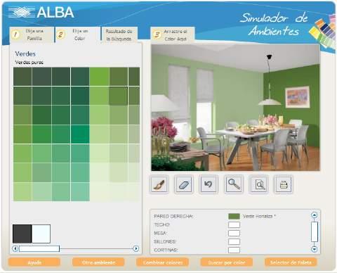 Redecora tu casa con este simulador de ambientes - Pinturas bruguer simulador de ambientes ...