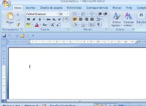 Curso gratuito de Word 2007 on-line