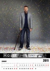 Calendario Dr. House 2011