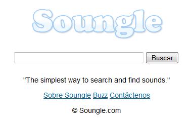 Buscador de sonidos para descargar gratis
