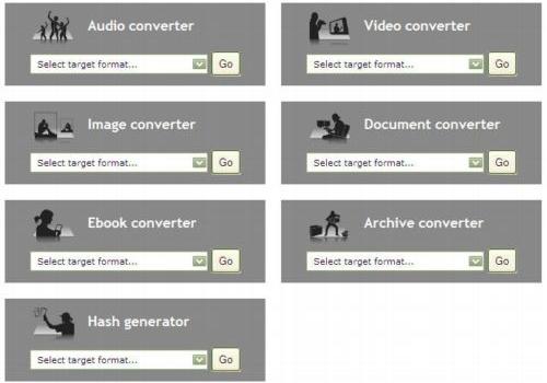 Convertidor gratuito de archivos online