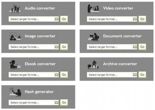 Conversor de archivos multiformato gratuito