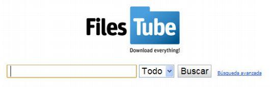Filestube. Eficaz buscador de archivos compartidos