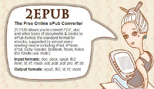 2epub Convierte Tus Archivos De Texto Al Formato Epub