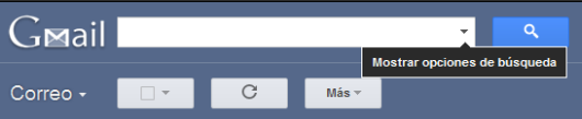 Búsqueda de mensajes en Gmail