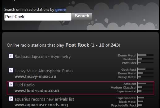 Radios on-line con más de 300 géneros musicales