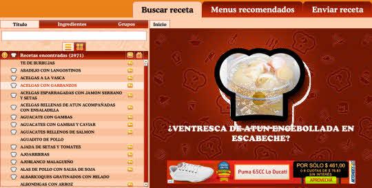 ¿Qué cocino hoy? Todas las recetas en tu navegador Chrome