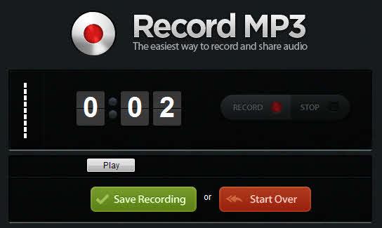 Graba y comparte audio desde el navegador