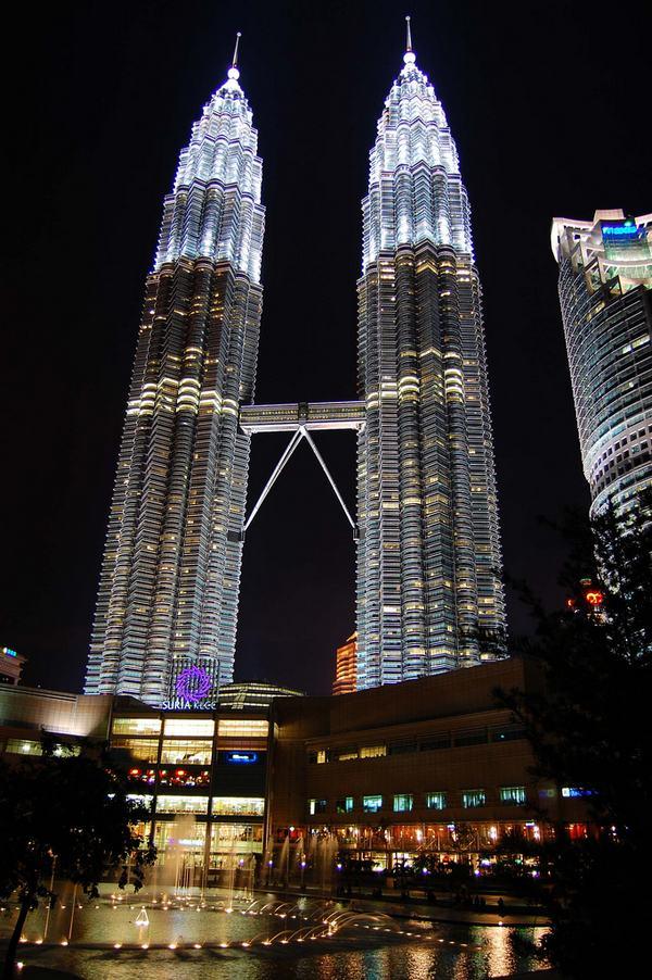Maravillas arquitectónicas. Petronas Twin Towers