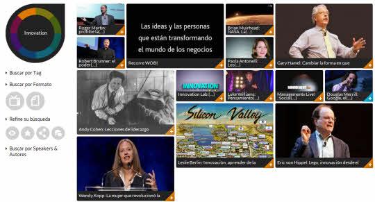 Wobi. Pensadores y líderes mundiales en videos en español
