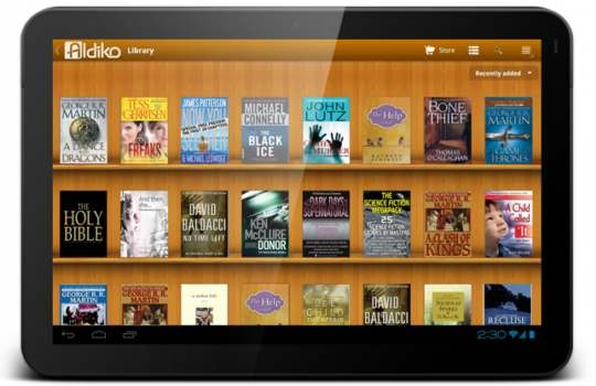 Aldiko. Busca, descarga y lee ebooks en móviles con Android