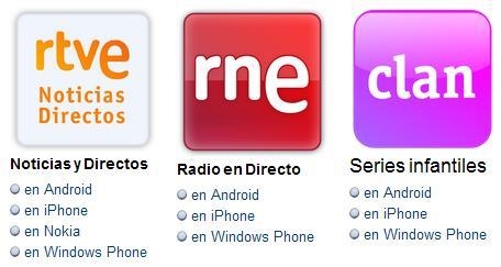Los contenidos de la RTVE gratis en tu dispositivo móvil
