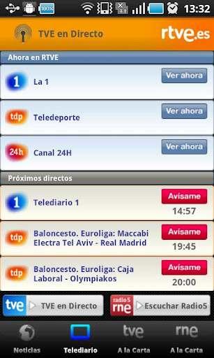 La Radio y Televisión española en los dispositivos móviles