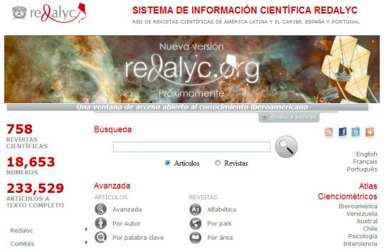 Acceso gratuito a 758 revistas científicas
