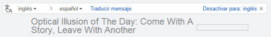 Gmail traduce automáticamente los mensajes