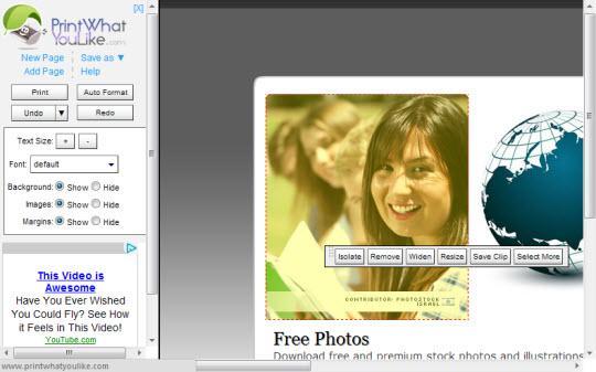 Extensión de Chrome para ahorrar papel y tinta al imprimir una página web