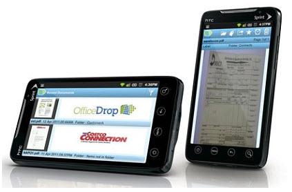 OfficeDrop. Escanea documentos desde tu smartphone, lo convierte en PDF y lo almacena en la nube, gratis hasta 5 Gb