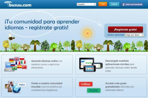 Busuu. Red social gratuita para aprender 12 idiomas diferentes