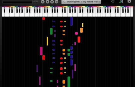 Color Piano. Aprende a tocar el piano sin saber partituras