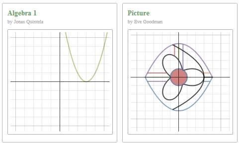 Graficar funciones algebraicas con Desmos