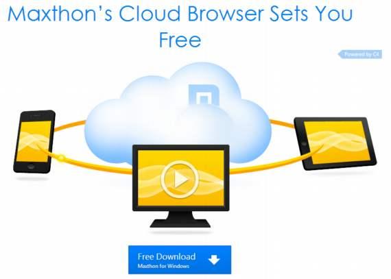 Maxthon Cloud Browser 4. Navegador muy rápido, fiable y más integrado con la nube