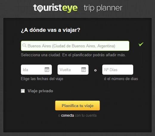 Planificar las vacaciones online