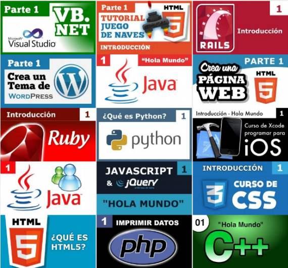 Aprender lenguajes de programación gratis