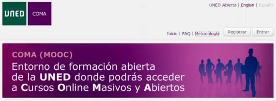 UNED COMA. Cursos on-line gratuitos y en español sobre diferentes materias