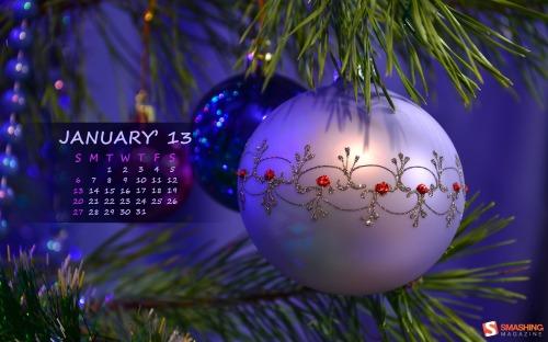 Fondos de escritorio con o sin calendario enero 2013