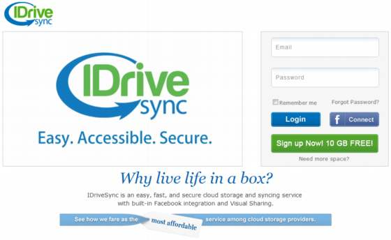 IdriveSync. 10 Gb de almacenamiento gratis en la nube con sincronización total multiplataforma