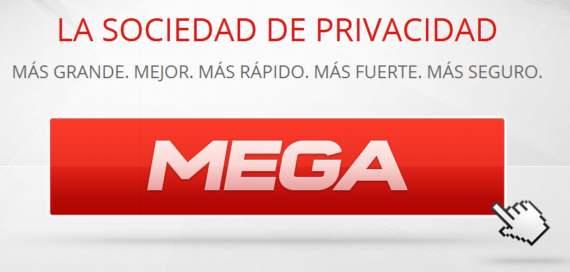 Mega. 50 Gb de almacenamiento gratuito en la nube con cifrado de 2048 bits