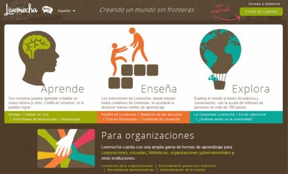 Livemocha. Cursos de inglés y otros idiomas on-line gratis