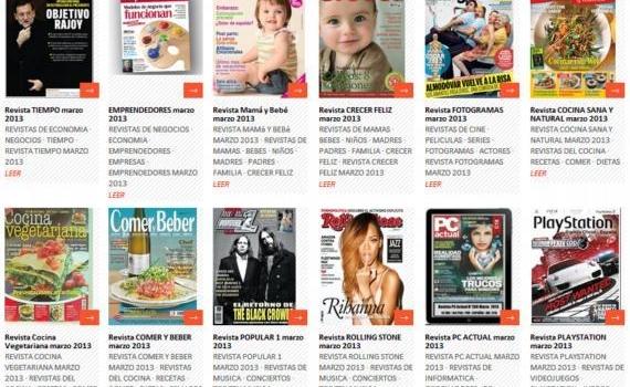 Spanishmarket. Directorio de revistas online en español