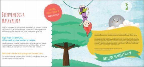 Esmuki. Contenido multimedia para desarrollar el pensamiento creativo de los niños