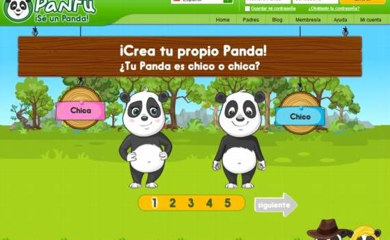 Panfu, un mundo virtual en el que los niños aprenden jugando