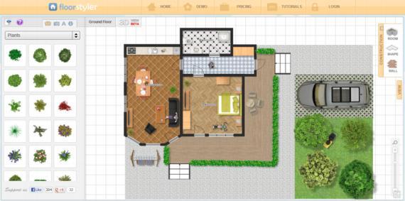 Floor styler dise a y decora tu vivienda con unos pocos for Disena tu casa gratis