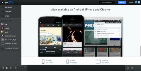 Exfm. Una nueva forma de buscar, encontrar y compartir música on-line