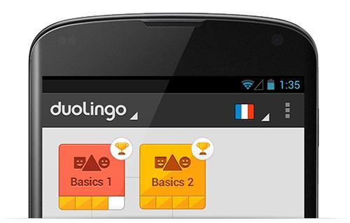 Duolingo. Aprender inglés gratis desde smartphone