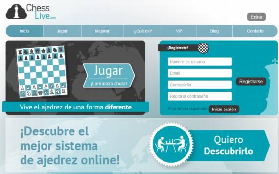 Juega ajedrez on-line con Chess Live