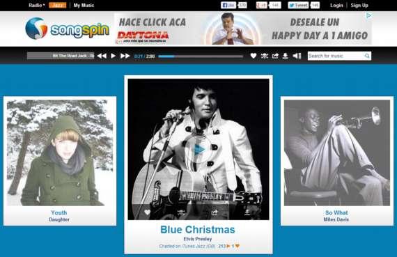 Songspin.Música de varios géneros por streaming gratis