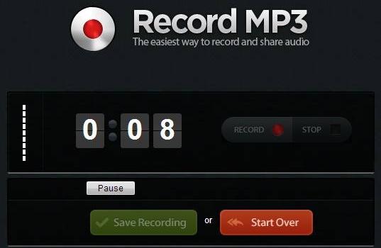 Recordmp3. Una forma sencilla de grabar mensajes de audio