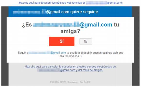 Correos basura que atacan las cuentas de Gmail