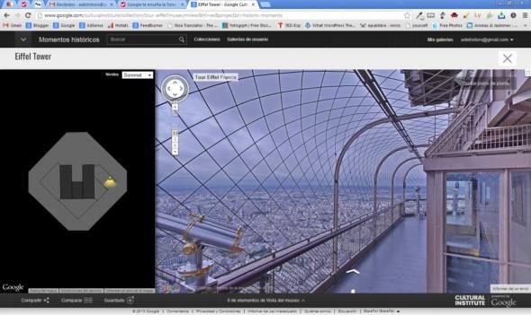 Tomate unos minutos para pasear por la Torre Eiffel